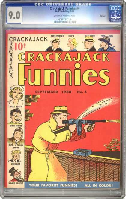 CGC Graded Comics - Crackajack Funnies #4 (CGC)