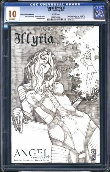 CGC Graded Comics - Angel: Illyria #1 (CGC)