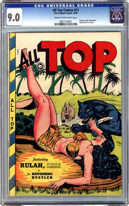 CGC Graded Comics - All Top Comics #13 (CGC)
