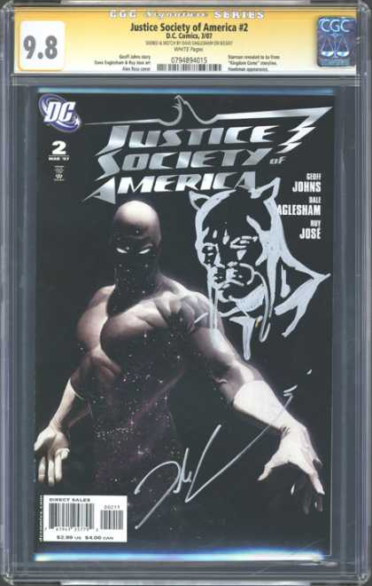 CGC Graded Comics - Justice Society of America #2 (CGC)