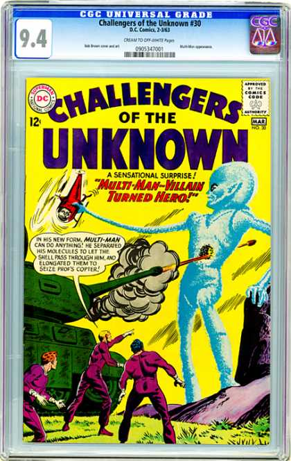 CGC Graded Comics - Challengers of the Unknown #30 (CGC)
