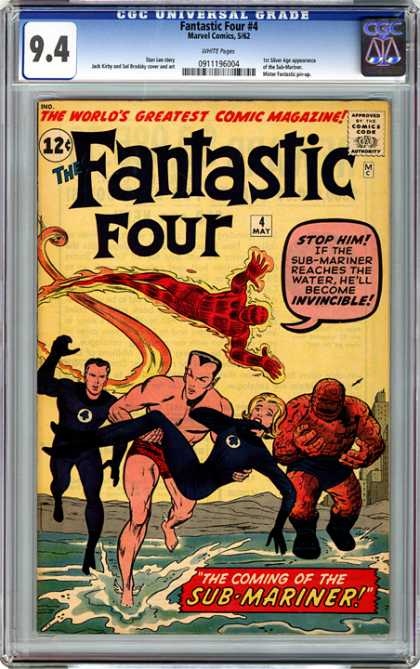 CGC Graded Comics - Fantastic Four #4 (CGC)