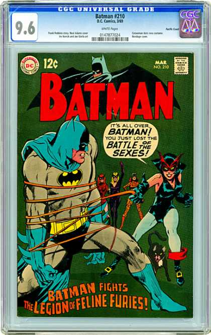 CGC Graded Comics - Batman #210 (CGC)