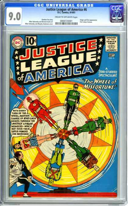 CGC Graded Comics - Justice League of America #6 (CGC)