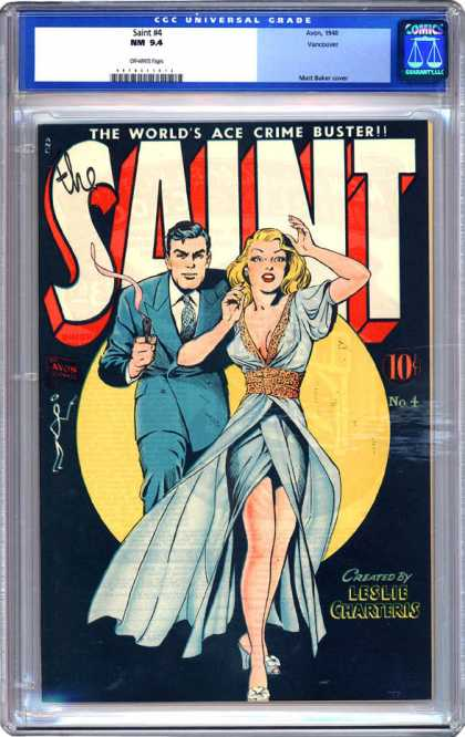 CGC Graded Comics - Saint #4 (CGC) - Cgc - Cgc Comics - The Saint - Crime - Kidnap