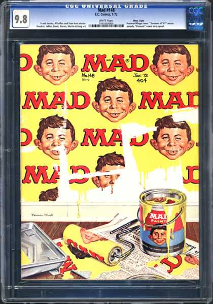 CGC Graded Comics - Mad #148 (CGC)