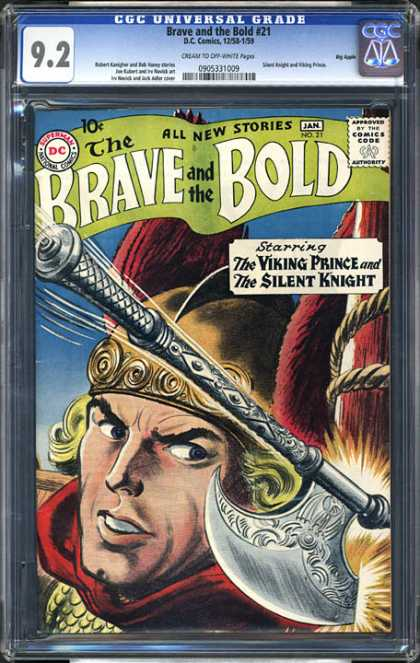 CGC Graded Comics - Brave and the Bold #21 (CGC)