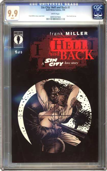 CGC Graded Comics - Sin City: Hell and Back #1 (CGC) - Sin City - Embrace - Crosshairs - Sniper - Cleavage