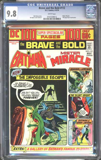 CGC Graded Comics - Brave and the Bold #112 (CGC)