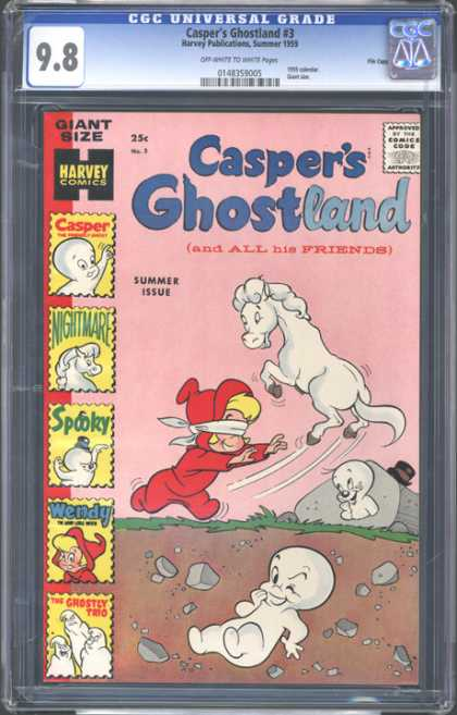 CGC Graded Comics - Casper's Ghostland #3 (CGC)