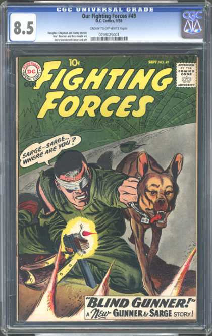 CGC Graded Comics - Our Fighting Forces #49 (CGC)