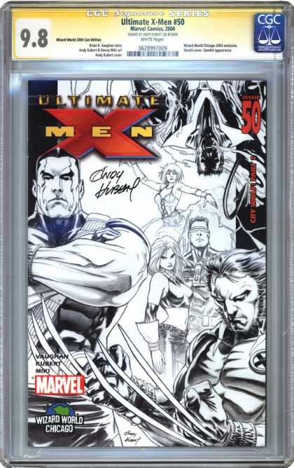 CGC Graded Comics - Ultimate X-Men #50 (CGC)