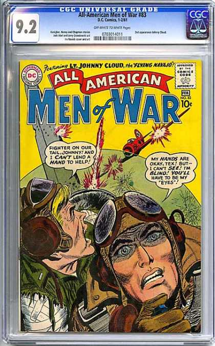CGC Graded Comics - All-American Men of War #83 (CGC)