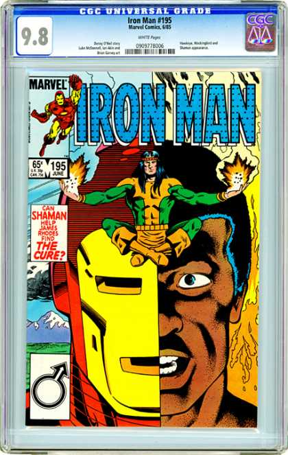 CGC Graded Comics - Iron Man #195 (CGC)