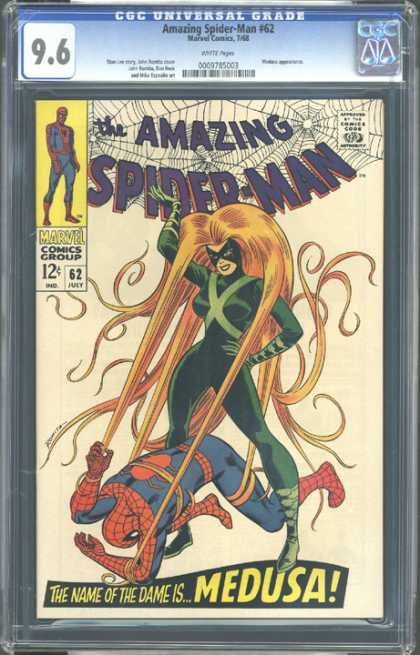 CGC Graded Comics - Amazing Spider-Man #62 (CGC)