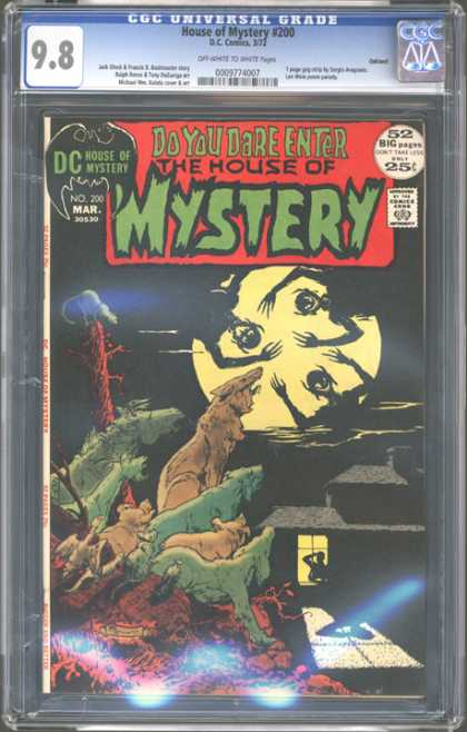 CGC Graded Comics - House of Mystery #200 (CGC)
