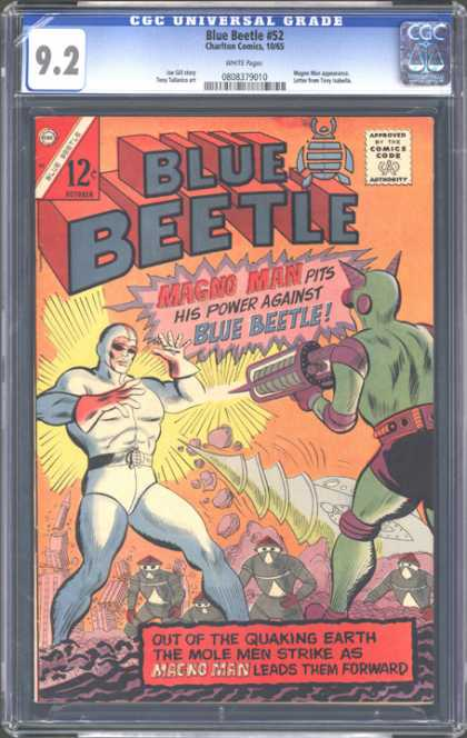 CGC Graded Comics - Blue Beetle #52 (CGC)