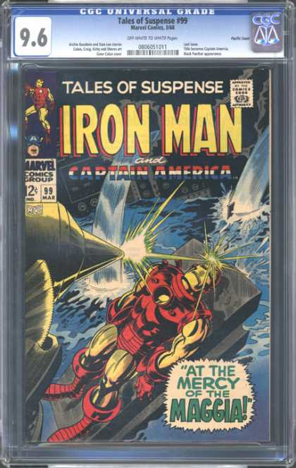 CGC Graded Comics - Tales of Suspense #99 (CGC)