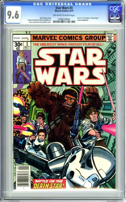 CGC Graded Comics - Star Wars #3 (CGC)