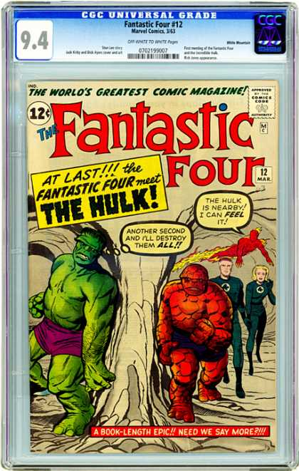 CGC Graded Comics - Fantastic Four #12 (CGC)