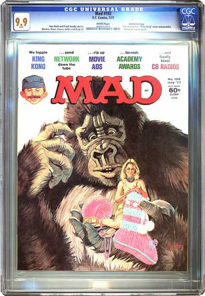 CGC Graded Comics - Mad #192 (CGC)