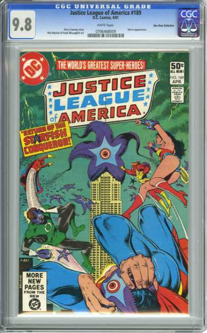 CGC Graded Comics - Justice League of America #189 (CGC)