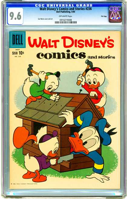 CGC Graded Comics - Walt Disney's Comics and Stories #236 (CGC)