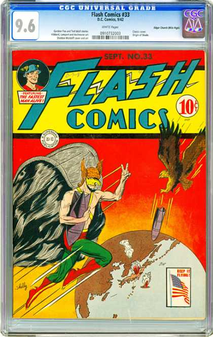 CGC Graded Comics - Flash Comics #33 (CGC)