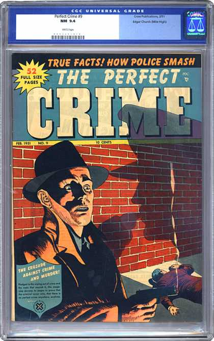 CGC Graded Comics - Perfect Crime #9 (CGC)
