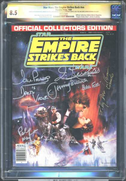 CGC Graded Comics - Star Wars: The Empire Strikes Back #nn (CGC)
