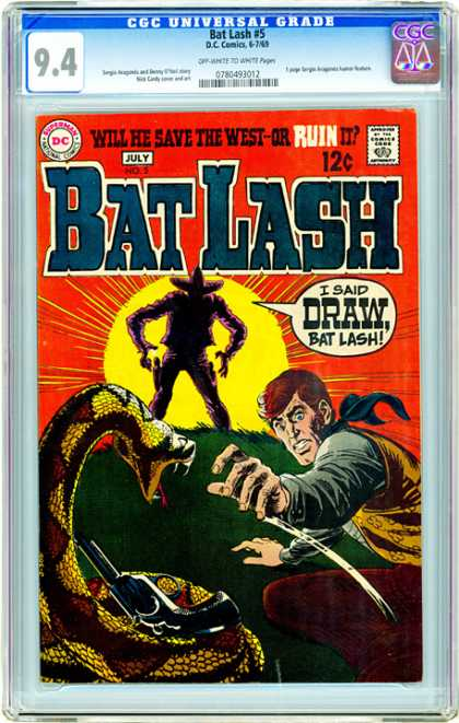 CGC Graded Comics - Bat Lash #5 (CGC)