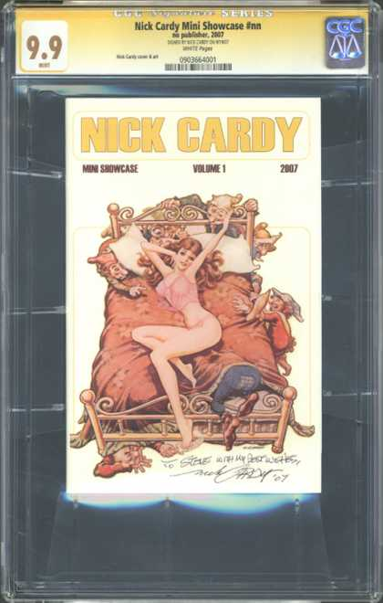 CGC Graded Comics - Nick Cardy Mini Showcase #nn (CGC) - Nick Cardy - Woman - Bed - Gnome - Volume 1