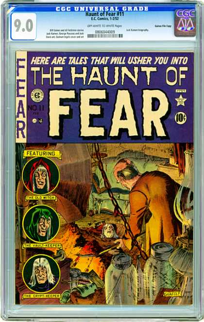 CGC Graded Comics - Haunt of Fear #11 (CGC)
