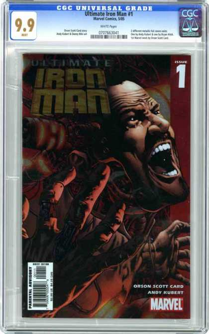 CGC Graded Comics - Ultimate Iron Man #1 (CGC)