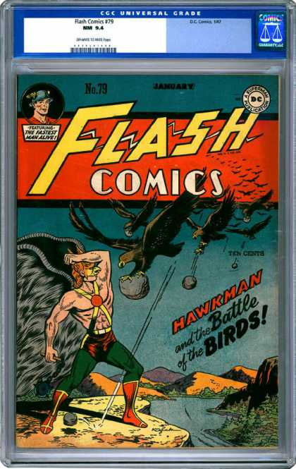 CGC Graded Comics - Flash Comics #79 (CGC)