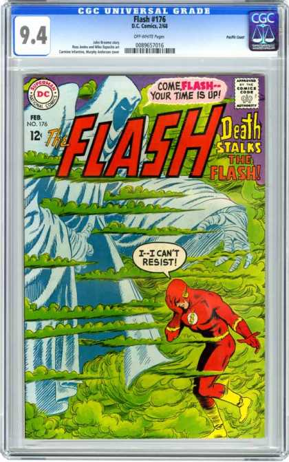 CGC Graded Comics - Flash #176 (CGC)