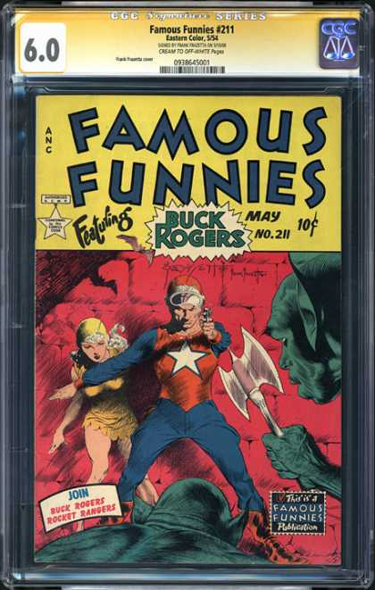 CGC Graded Comics - Famous Funnies #211 (CGC) - Famous Funnies - May No 211 - Buck Rogers - Rocket Rangers - Mint Condition