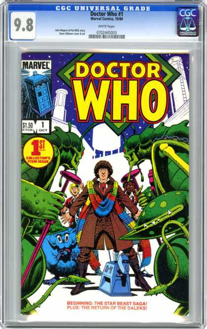 CGC Graded Comics - Doctor Who #1 (CGC)