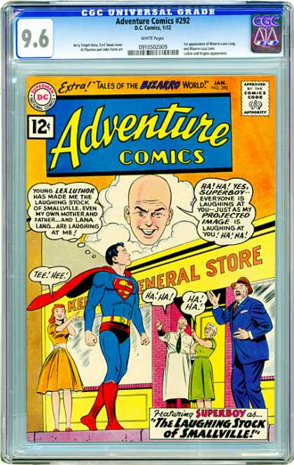 CGC Graded Comics - Adventure Comics #292 (CGC)