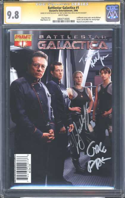 CGC Graded Comics - Battlestar Galactica #1 (CGC)