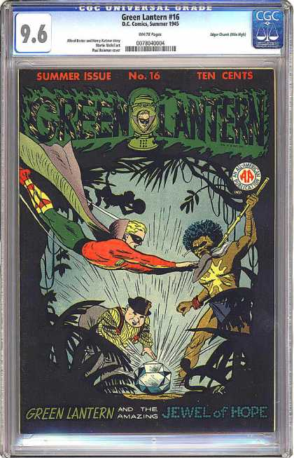CGC Graded Comics - Green Lantern #16 (CGC)