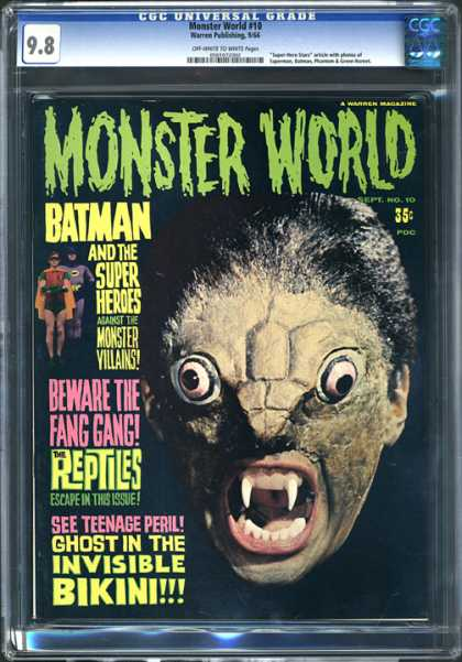 CGC Graded Comics - Monster World #10 (CGC)