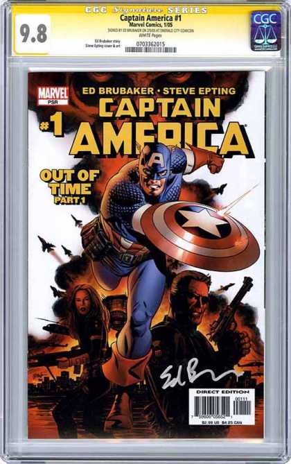 CGC Graded Comics - Captain America #1 (CGC)