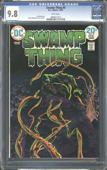 CGC Graded Comics - Swamp Thing #8 (CGC)