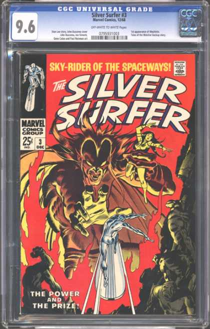 CGC Graded Comics - Silver Surfer #3 (CGC)