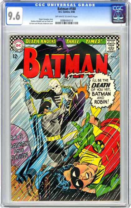 CGC Graded Comics - Batman #180 (CGC)