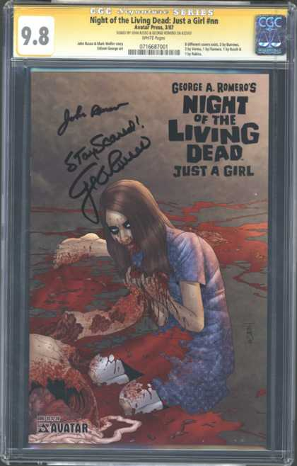 CGC Graded Comics - Night of the Living Dead: Just a Girl #nn (CGC)