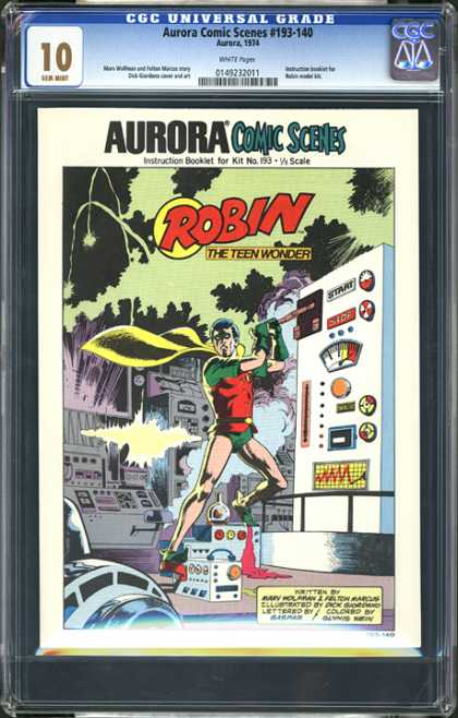 CGC Graded Comics - Aurora Comic Scenes #193-140 (CGC)