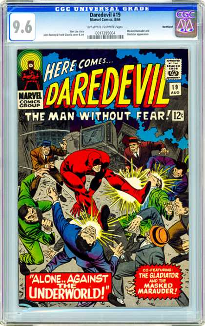 CGC Graded Comics - Daredevil #19 (CGC)