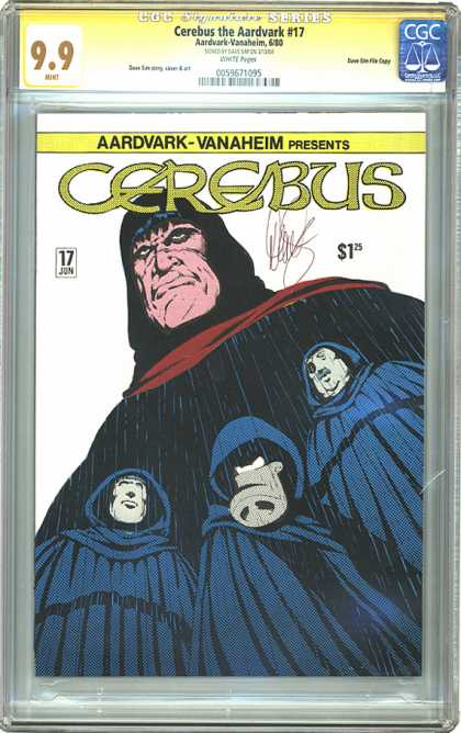 CGC Graded Comics - Cerebus the Aardvark #17 (CGC)